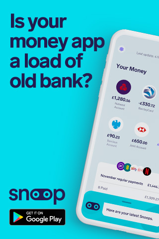 Is your money app a load of old bank?